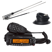 TYT TH-9800 Mobile Transceiver Radio Station 50W Repeater Scrambler Quad Band Car Truck Long Distance Walkie Talkie Over 10km