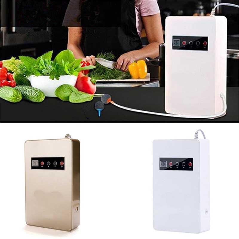 18W 220V 50Hz 600mg/h Ozone Generator Ozonator Air Purifier Sterilizer for Food Vegetables Fruit US Plug<br>