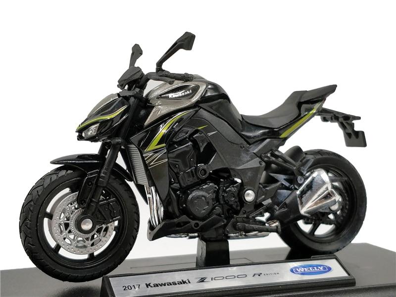 Welly moto Kawasaki Ninja zx-10r 1:18 nuevo en caja original
