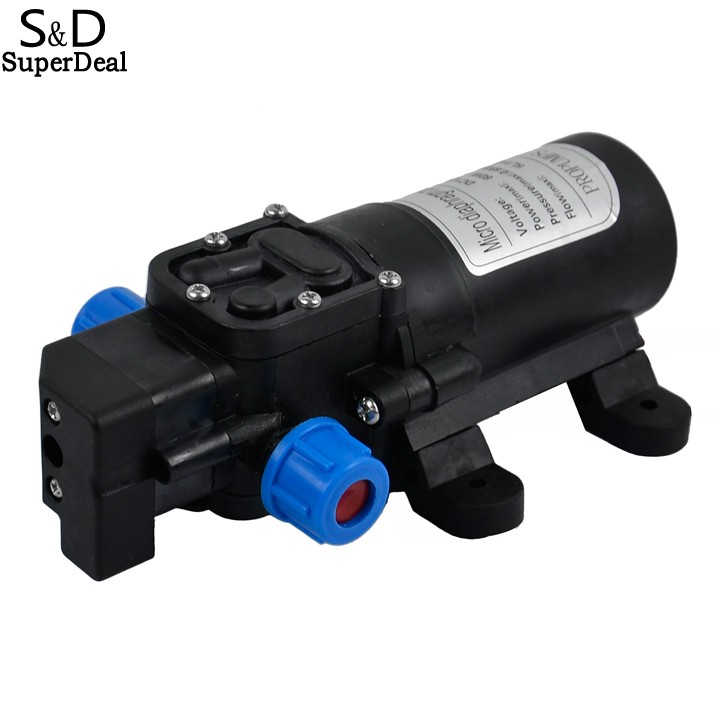Superdeal DC 12V 60W 5L/min Diaphragm High Pressure Water Pump Automatic Switch for Water Purifier<br><br>Aliexpress