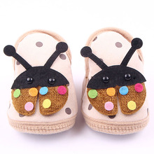 High Quality Baby shoes carton print Brand Newborn baby Girls boys First Walkers Shoes Newborn Pre walker Shoes(China)