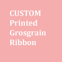 9MM,22MM 25MM 38MM 50MM,75MM Printed grosgrain ribbon customization 50yards free shipping(China)