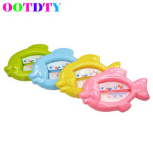 OOTDTY Baby Bath Toy Floating Fish Water Thermometer Plastic Float Tub Sensor 10-50c APR5_30