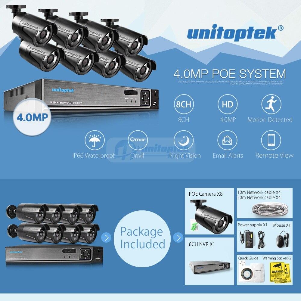 01 4MP IP Camera System