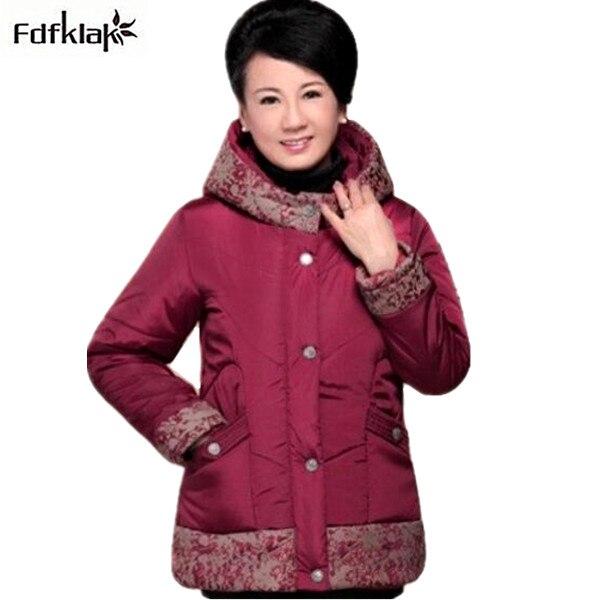 New Women winter cotton jacket single-breasted large size womens jacket slim hooded down &amp; parkas 5XL female winter coats Q686Îäåæäà è àêñåññóàðû<br><br>