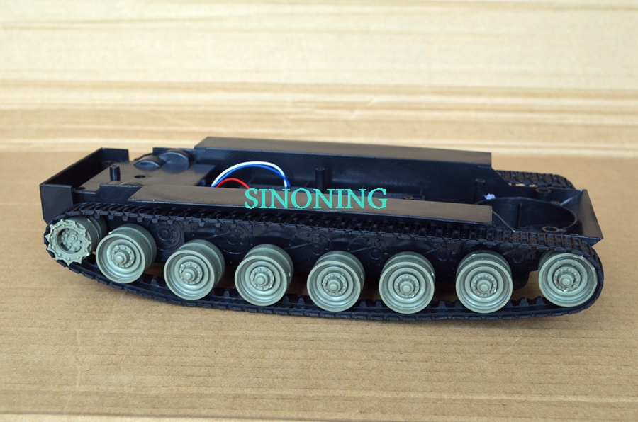 Self-restraint Smart Robot Tank Chassis kits diy robot chassis tank full set track with two motor VIDEO<br>