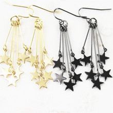 Women stars earrings stud earrings Europe  United States foreign trade jewelry wholesale manufacturers direct marketing
