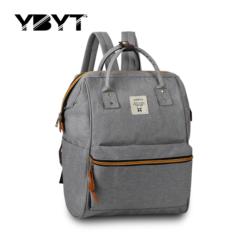 new medium canvas bookbags preppy style rucksack appliques women simple shopping pack ladies travel bags student school backpack<br><br>Aliexpress