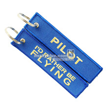 "Pilot Travel Luggage Tag "" I' d Rather Be Flying"" Blue Bag Tag Best Gift for Pilot(China)"