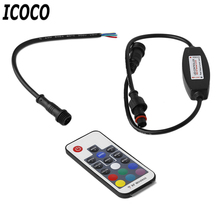 ICOCO RF Wireless 17 Keys Waterproof LED Lamp with Module Mini Remote Control RGB LED Controller for Led Strip Light  Brand New