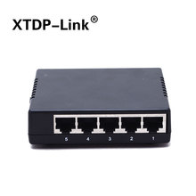 passive 5 Port Poe Switch 12V 4/5+ 7/8- ethernet 10/100Mbps switch poe 4 port power for cctv camera ip cameras(China)