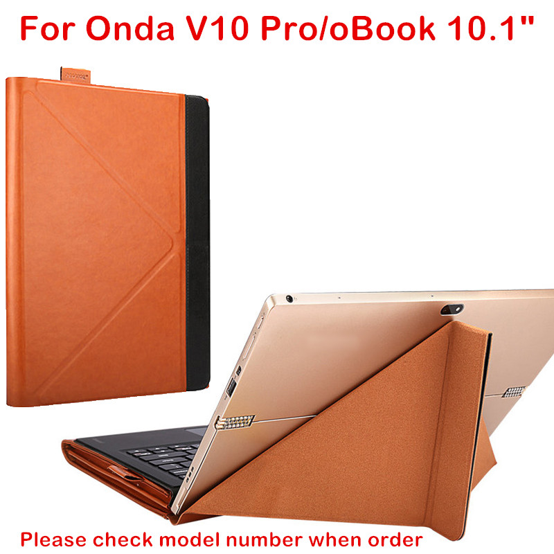 Fashion Tablet Case For Onda V10 Pro 10.1 inch Plus oBook 10 20 Laptop Sleeve Cover Stand Design PU Skin Protective Stylus Gift<br>
