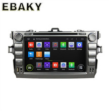 NaviTopia 8Inch Quad Core Android 5.1 Car DVD GPS For Toyota Corolla 2006-2011 Car PC+Radio Stereo+Bluetooth+WiFi+Mirror Link(China)