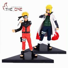 "2 Pcs/Set 14 cm 5.5"" Cartoon Naruto Pain Sasuke Anime Action Figure PVC Toys Children Adult For Decoration Collection Gift P001(China)"