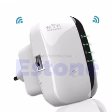 300Mbps Signal Extender Booster Wireless-N AP Range 802.11 Wifi Repeater EU/US Plug #H029#
