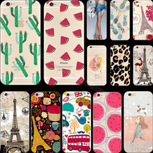 5 5S SE Pattern Pretty Water Lotus Silicon Phone Shell Cover For Apple iPhone 5 5S SE iPhone5S Case Cases Top Fashion Best New(China)
