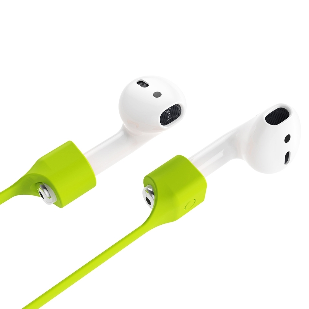 Baseus Earphone Strap Magnetic Adsorption Wire Anti Lost Loop String Rope AirPods Apple 7 / 7 Plus Silicone Cable Cord