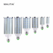 1Pcs High Power Aluminum PCB Cooling 5730 SMD LED Corn Bulb 85V-265V E27 10W 15W 20W 25W 30W 50W No Flicker LED lamp Spot light(China)