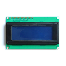 2pcs/lot LCD Board 2004 20*4 LCD 20X4 5V Blue screen LCD2004 display LCD module LCD 2004 in stock high quality GOOD PRICE
