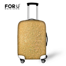 FORUDESIGNS 2017 Various Fruits Luggage Protector Covers,3D print Soft Travel Suitcase Dustproof Covers Thick Elastic Covers
