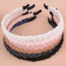 Fashion Rhinestone Crystal Bead Head band Chain Headband Piece Hair Band Hairbands For Girl Women