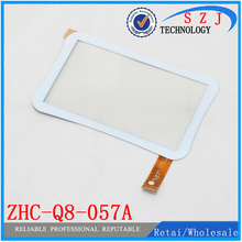 New 7'' inch case for Allwinner A13 Q88 ZHC-Q8-057A Tablet Capacitive touch screen panel Digitizer Glass Sensor Free Ship 10pcs(China)
