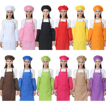 Fashion Adult Polyester Hanging-neck Apron Kitchen Restaurant Cooking Baking Waiter Work Customized LTablier Delantal Logo Apron(China)