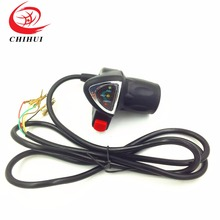 Scooter Grips 24V Twist Throttle Electric Speed Control Switch w/Battery Indicator Accelerator - YONGKANG CHIHUI INDUSTRY & TRADE CO., LTD store