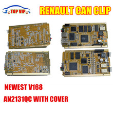 2017 Newest Renault Can Clip V168 Full Chip CYPRESS AN2131Q CWithCover OBDIIS Pecial-Purpose Car Diagnostic Tool Renault Scanner