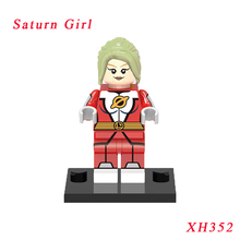 Saturn Girl Diy Movie Dolls Single Sale Dc Legion Of Super Heroes Star Wars Models Building Blocks Toy Gift For Children(China)
