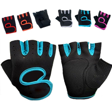 Gym Body Building Training Fitness Gloves Sports Crossfit Weight Lifting Exercise Workout Fingerless Gloves for Men & Women Girl