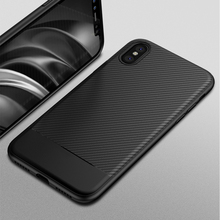 FLOVEME For iPhone X 10 Case 2017 Luxury , Business Carbon Fiber Cover For iPhone 8 7 6 6S Plus Silicon Phone Case Accessories