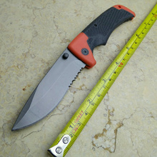 Hunting Knives [Medium Size] folding knife ,pocket Folding Blade knife Serrated Survival Knife camping ourdoor(China)