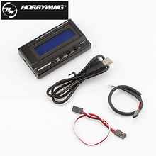 1pcs Hobbywing 3in1 Multifunction Professional LCD Program Box with Voltage Detection-Upgraded Version of 2in1(China)