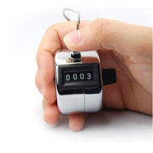 Free Shipping New Finger Ring Digital Tally Counter Clicker Timer High Quality
