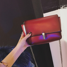 2017 mortise lock bag all-match cross-body  small chain vintage bag one shoulder women's handbag q-9*68966