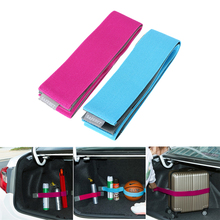 80cm Car Trunk Organizer Belt Strap Fixed Sundry Stowing Tidying Automobiles Interior Accessories Car-styling(China)