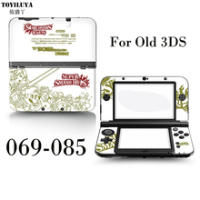 Pikachu Stick Gamepad-Skin Protector Cover Plates Or Mickey Mouse And All Stars For Nintendo 3DS Sticker For 3DS Conselo