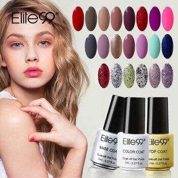 Elite99 7 ml Vernis À Ongles Lumineux Coloré Couleur Gel Vernis Laque UV LED Soak Off Nail Art Nail UV Gel polonais