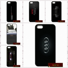 Awesome Audi Car RS Logo Phone Cases Cover For iPhone 4 4S 5 5S 5C SE 6 6S 7 Plus 4.7 5.5 AM0691(China)