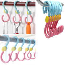 3pcs/lot  Quality S Hook 360 Degree Rotation Multi-Fonction Clothes Hanger Hooks #1587