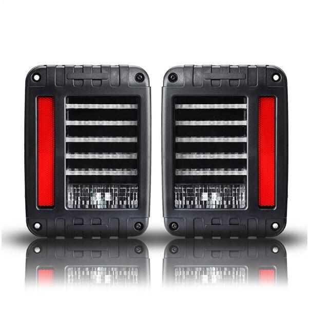 On sale! EU / US Standard LED Integrated Tail Light 66W 12V  4x4 4WD Off Road Reverse Backup Lamp for Jeep Wrangler JK 2007-2015<br>
