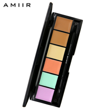 AMIIR Brand Concealer 6 Color Foundation Palette Base Makeup Corrector Face Concealer Palette Contour Shading Cream Cosmetics(China)