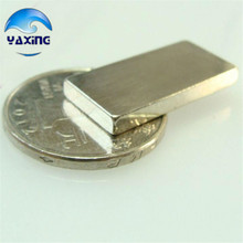 20pc magnet cube block 30 x 10 x 5mm Super Strong Rare Earth Permanet Magnet Powerful Block Neodymium Magnets(China)