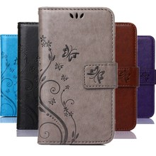 New Luxury Leather Wallet Cover Case for Samsung Galaxy Trend Plus S7580 S7582 GT-S7580 GT-S7582 Smart Phone Bag Case Cover