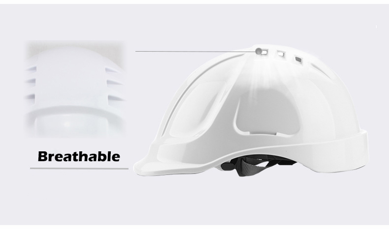 Safety Helmet Hard Hat Work Cap ABS Material Construction Protect Helmets High Quality Breathable Engineering Power Labor Helmet (13)