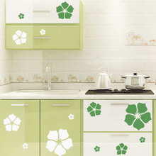 High quality creative refrigerator sticker flower pattern wall stickers home decor F2