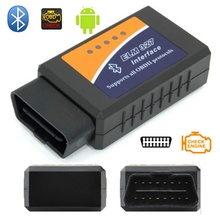 ELM327 Bluetooth V2.1 Works On Android Torque Elm 327 Bluetooth OBD2/OBD II Universal Car Diagnostic Scanner OBD2 Trip Computer