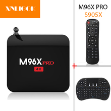 Buy Android 6.0 TV Box M96X PRO Amlogic S905X 2G+16G Quad Core H.265 2.4GHz WIFI Media Player M96X Set Top BOX for $56.76 in AliExpress store