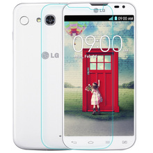 0.3mm Premium 9H 2.5D Arc Transparent Tempered Glass for LG Dual SIM Screen Protector L90 D410